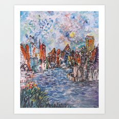 City Beautiful Art Print