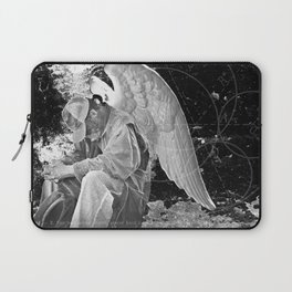 A Very Old Man with Enormous Wings Laptop Sleeve
