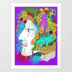 organic man Art Print