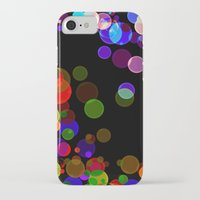 bubbles iPhone & iPod Cases featuring Bubbles by haroulita