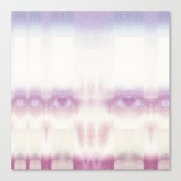 Candy Floss Scull- GLITCH Canvas Print