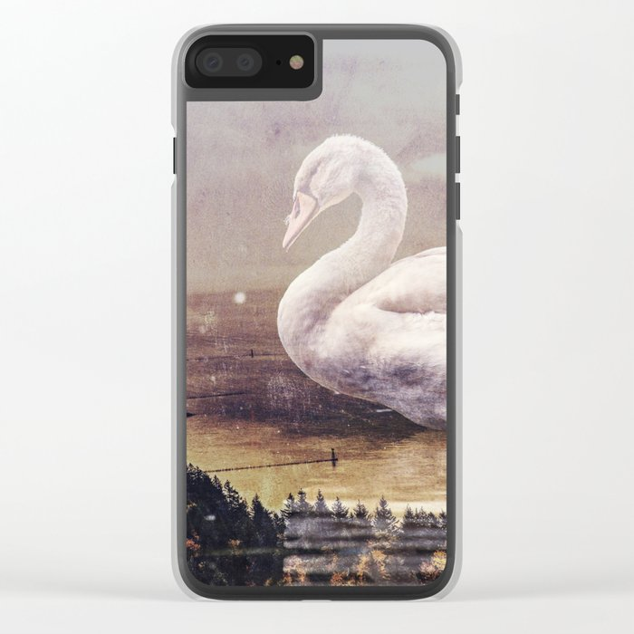 Swan Lake Clear iPhone Case