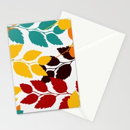 Leaves patten Stationery Cards
