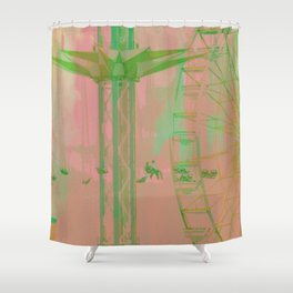 Carnival Rides Shower Curtain