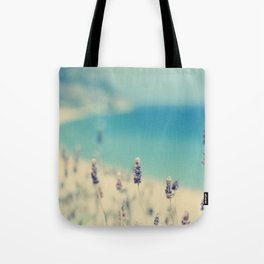beach - lavender blues Tote Bag