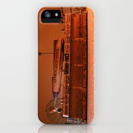 Coney Island - Gregory & Pauls in the winter iPhone Case