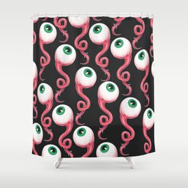 EYES ALL OVER Shower Curtain