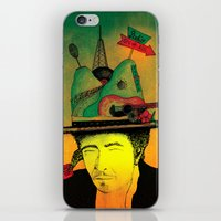 dylan iPhone & iPod Skins featuring dylan by Mariana Beldi