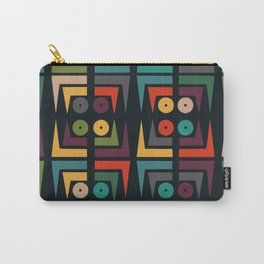 Color jukebox pattern Carry-All Pouch