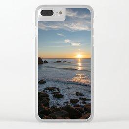 Sunset on the Oregon Coast Clear iPhone Case