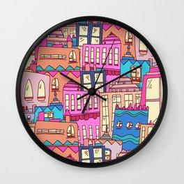 Mexican city Wall Clock