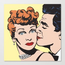 Lucy and Desi Canvas Print