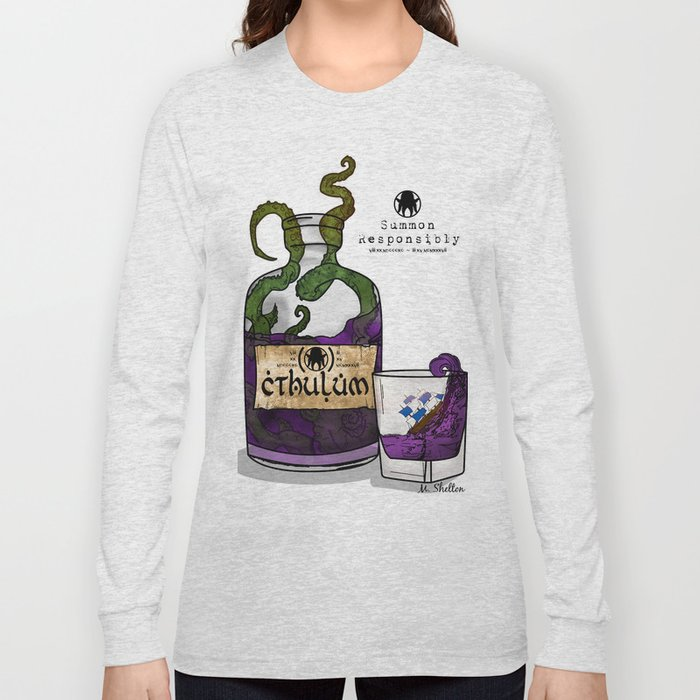 Cthulum Long Sleeve T-shirt