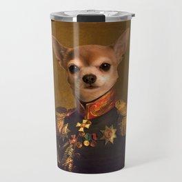 Chiwawa General portrait   Cute Kawaii Travel Mug