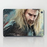 fili iPad Cases featuring Fili Heir of Durin by Alba Palacio