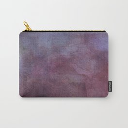 Purple Watercolor Nebula Galaxy Sky Carry-All Pouch