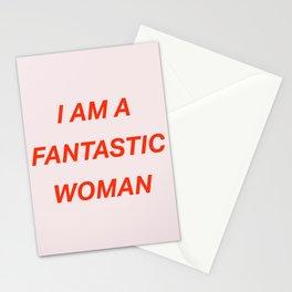 I am a fantastic woman Stationery Cards