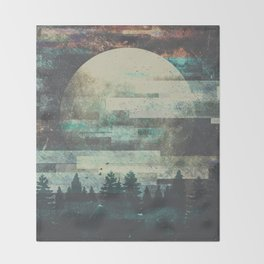 Children of the moon Throw Blanket