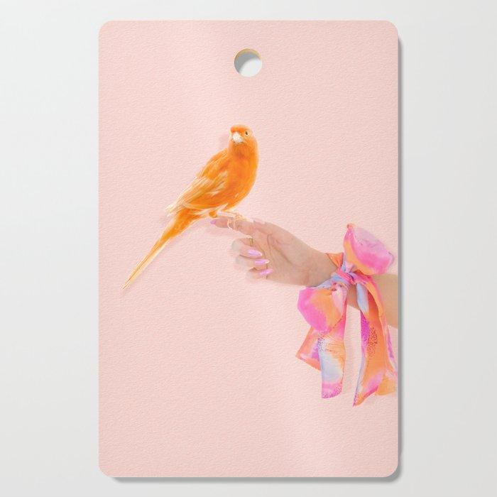 Pretty Bird Cutting Board