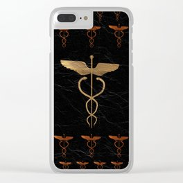 Caduceus - Symbol of Healing Clear iPhone Case