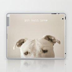 Pit bull love  Laptop & iPad Skin