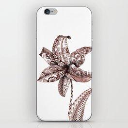 Henna Lily iPhone Skin