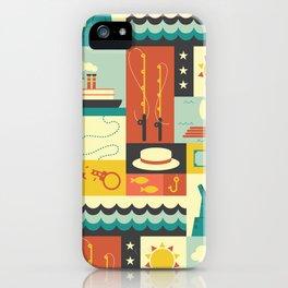 Huckleberry Finn iPhone Case