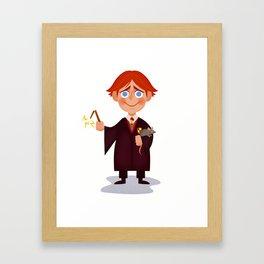 Ron Weasley Framed Art Print