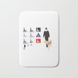 National Blind People Day Bath Mat