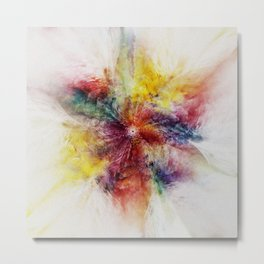 Colorful Flower abstract 2016 Metal Print