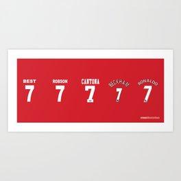 Set of Seven Art Print