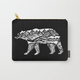 Bear Necessities in Black Carry-All Pouch