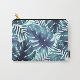 Blue Tropical Carry-All Pouch