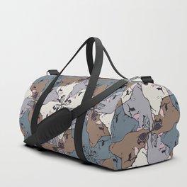 Frenchie Yoga Tessellations Duffle Bag
