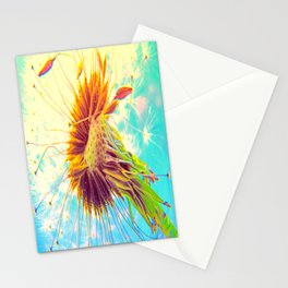 Dandalion explosion Stationery Cards