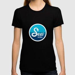 Sea Serpent Scuba T-shirt
