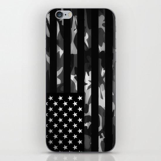 American camouflage iPhone & iPod Skin