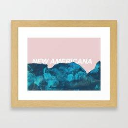 nuevo america Framed Art Print