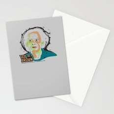Doc Brown_INK - Back to the Future Stationery Cards