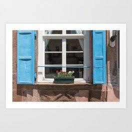 Windows - Cunda Island Art Print