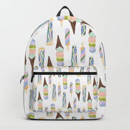 Colorful Ice Cream Backpack