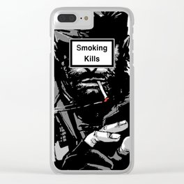 Smoking Kills Clear iPhone Case
