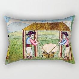 BETHLEHEM PROSPECTUS 3 (Painted Shed) Rectangular Pillow