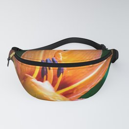 Wet Tiger Lily Fanny Pack