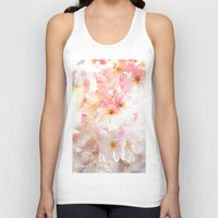 cherry blossom Tank Tops featuring Cherry Blossom by Leanne Phillips