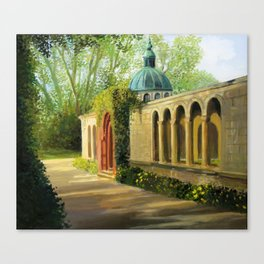 In The Gardens Of Sanssouci Canvas Print