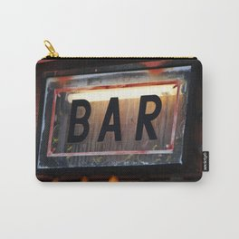 Bar Sign Carry-All Pouch