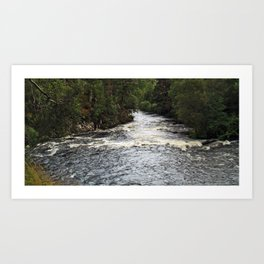River Affric Art Print