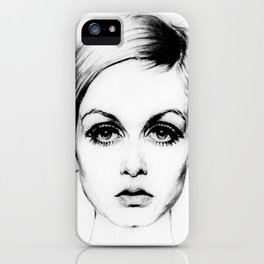 60's Eyelashes iPhone Case