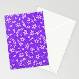 Macy - purple Stationery Cards